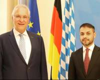 Meeting of Mr. Sifat Rahimee, Consul General of the Islamic Republic of Afghanistan in Munich with H.E. Joachim Herrmann, Minister of Interior Bavaria