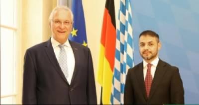 Treffen von Herrn Sifat Rahimee, Generalkonsul der Islamischen Republik Afghanistan in München mit S.E. Joachim Herrmann, Innenminister Bayerns